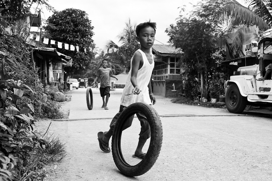 boys and motorcycle tires