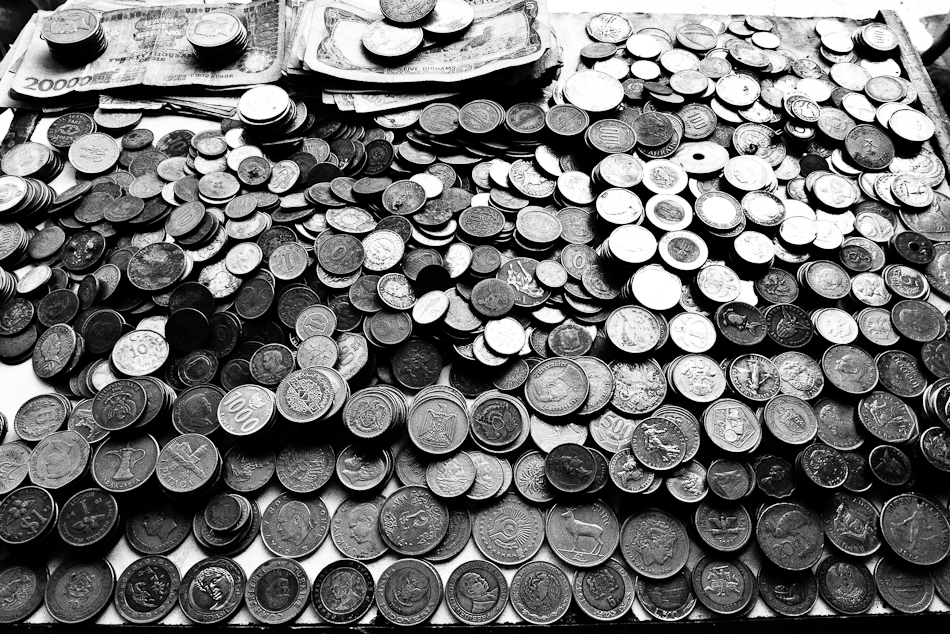 coins from all around the world