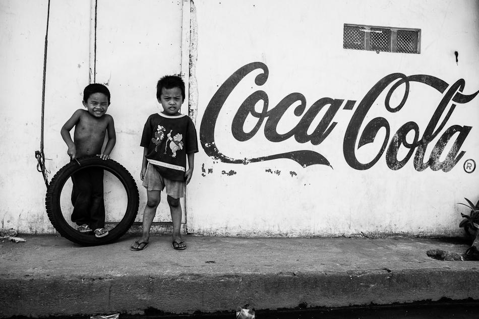 little boys from the neighborhood