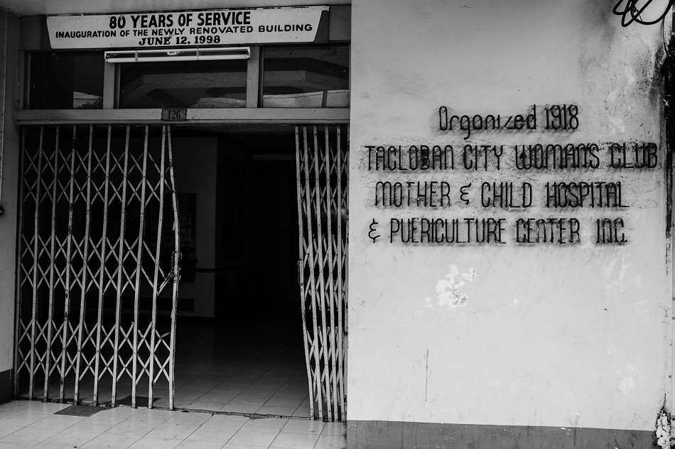 tacloban maternity clinic and puericulture center