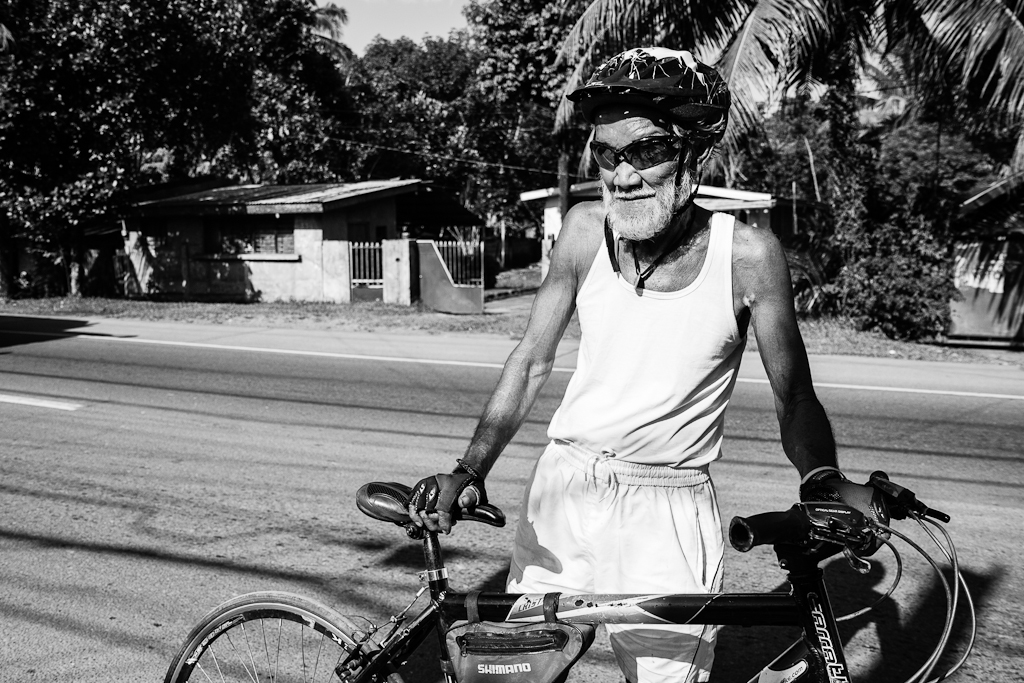 a 77 year old biker