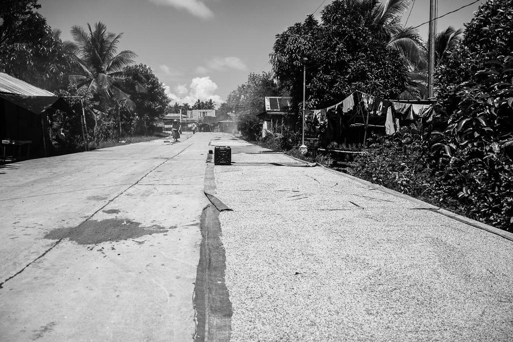 sunbaked road